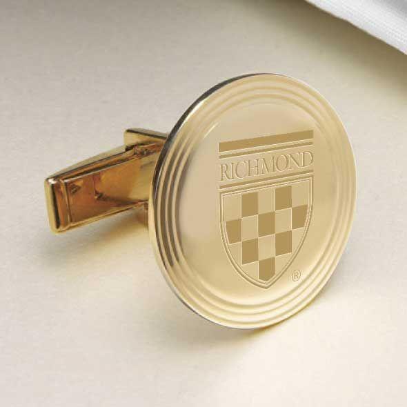 University of Richmond 18K Gold Cufflinks - Image 2