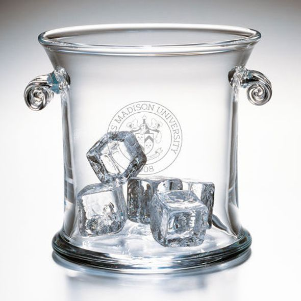 James Madison Glass Ice Bucket by Simon Pearce - Image 2