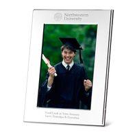 Northwestern Polished Pewter 4x6 Picture Frame