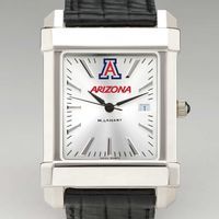 University of Arizona Men's Collegiate Watch with Leather Strap