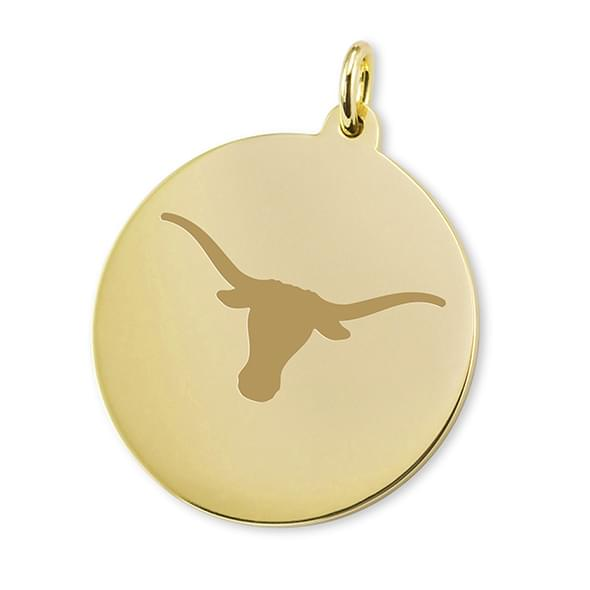Texas 18K Gold Charm - Image 1