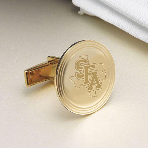 SFASU 18K Gold Cufflinks - Image 2
