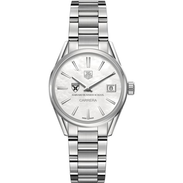 Harvard Business School Women's TAG Heuer Steel Carrera with MOP Dial - Image 2