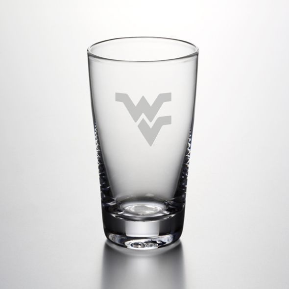 West Virginia University Ascutney Pint Glass by Simon Pearce