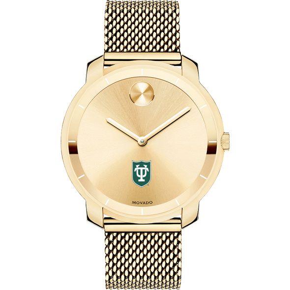Tulane University Women's Movado Gold Bold 36 - Image 2