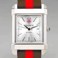 Brown University Collegiate Watch w/ NATO Strap for Men