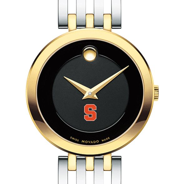 Syracuse University Women's Movado Esparanza Two-Tone Museum with Bracelet