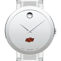 Oklahoma State University Men's Movado Sapphire Museum with Bracelet