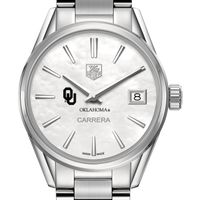University of Oklahoma Women's TAG Heuer Steel Carrera with MOP Dial