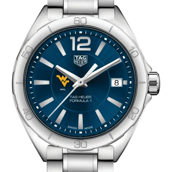 West Virginia University Women's TAG Heuer Formula 1 with Blue Dial