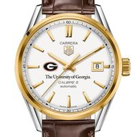 Georgia Men's TAG Heuer Two-Tone Carrera with Strap