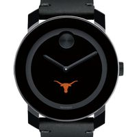 University of Texas Men's Movado BOLD with Leather Strap