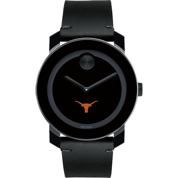 Texas Men's Movado BOLD with Leather Strap - Image 2