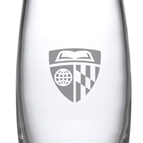 Johns Hopkins Glass Addison Vase by Simon Pearce - Image 2