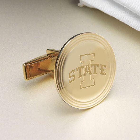 Iowa State University 14K Gold Cufflinks - Image 2