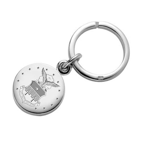 Air Force Academy Sterling Keyring