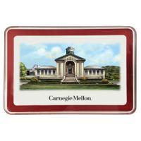 Carnegie Mellon University Eglomise Paperweight