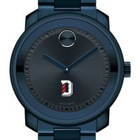Davidson College Men's Movado BOLD Blue Ion with Bracelet