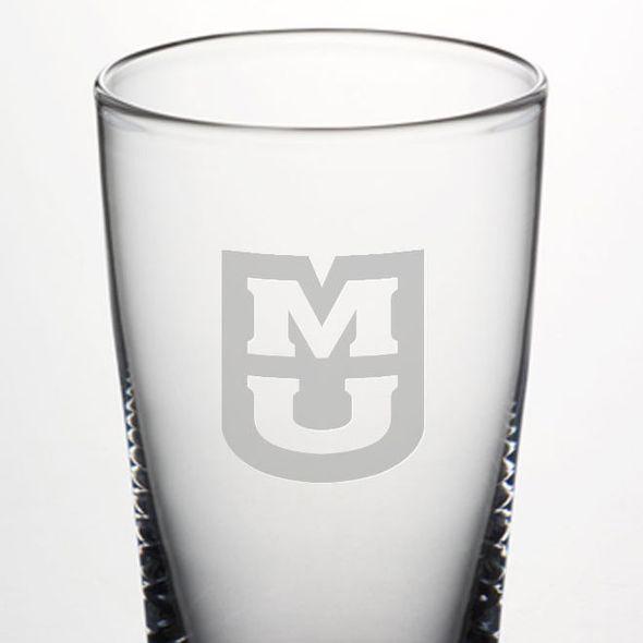 University of Missouri Ascutney Pint Glass by Simon Pearce - Image 2