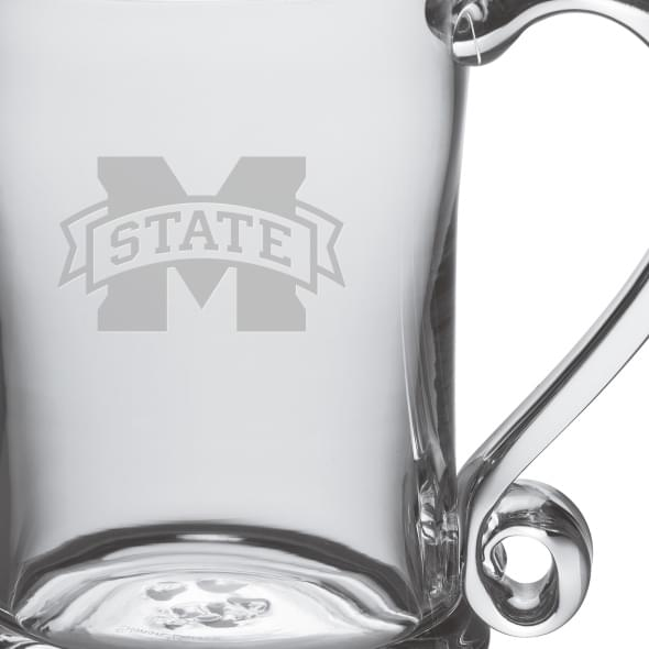 Mississippi State Glass Tankard by Simon Pearce - Image 2