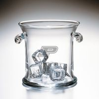 Purdue University Glass Ice Bucket by Simon Pearce