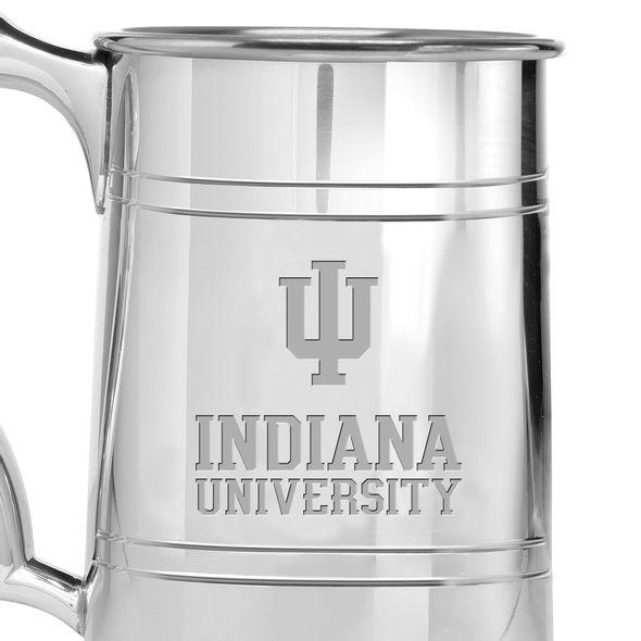 Indiana University Pewter Stein - Image 2