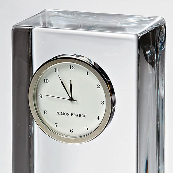 Arizona State Tall Glass Desk Clock by Simon Pearce - Image 3