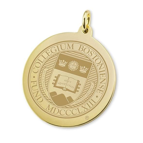 Boston College 18K Gold Charm