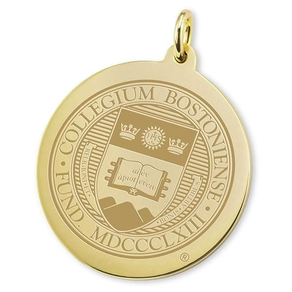 Boston College 18K Gold Charm - Image 2