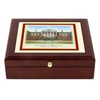 Maryland Eglomise Desk Box