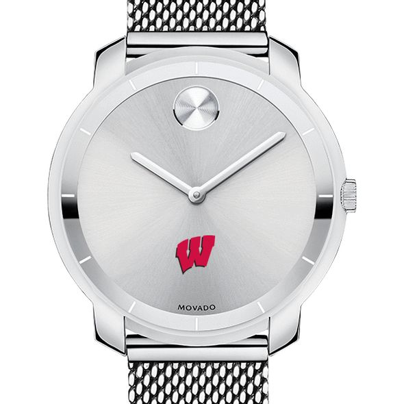 University of Wisconsin Women's Movado Stainless Bold 36