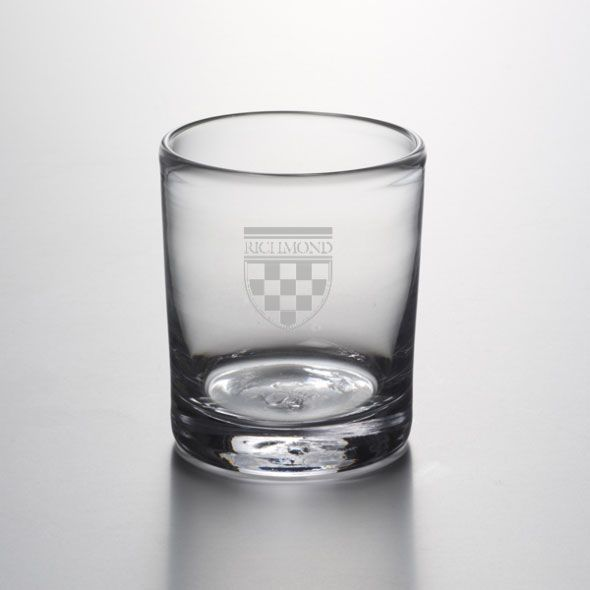 University of Richmond Double Old Fashioned Glass by Simon Pearce