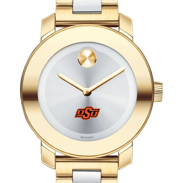 Oklahoma State University Women's Movado Two-Tone Bold