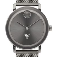 Washington University in St. Louis Men's Movado BOLD Gunmetal Grey with Mesh Bracelet