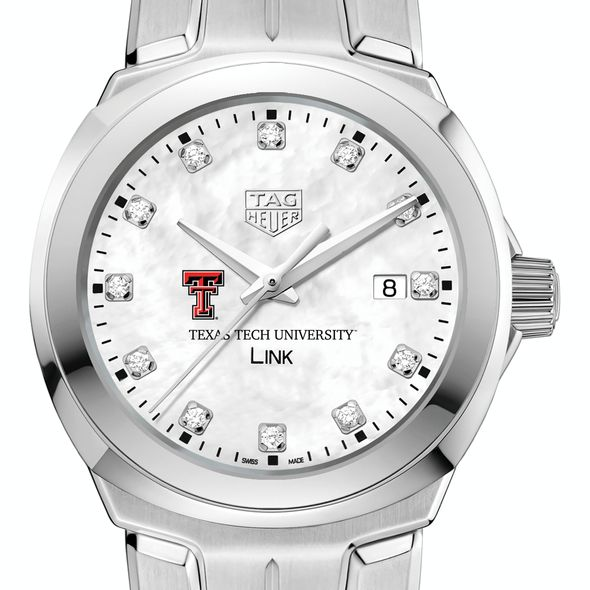 Texas Tech TAG Heuer Diamond Dial LINK for Women