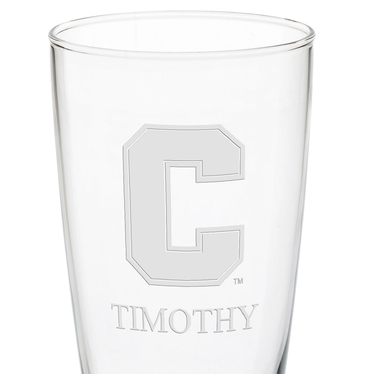 Cornell 20oz Pilsner Glasses - Set of 2 - Image 3