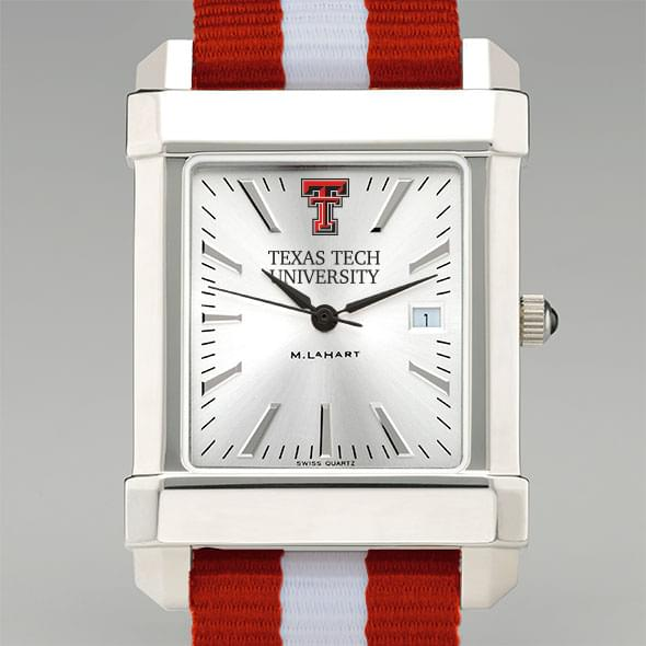 Texas Tech Collegiate Watch with NATO Strap for Men - Image 1