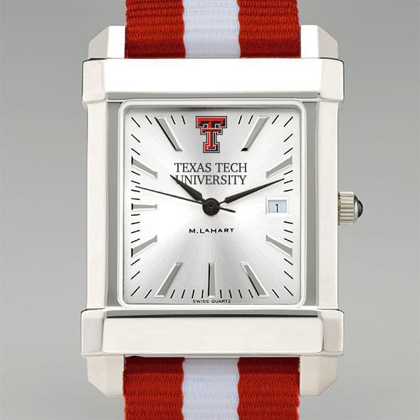Texas Tech Collegiate Watch with NATO Strap for Men
