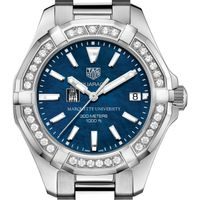 Marquette Women's TAG Heuer 35mm Steel Aquaracer with Blue Dial