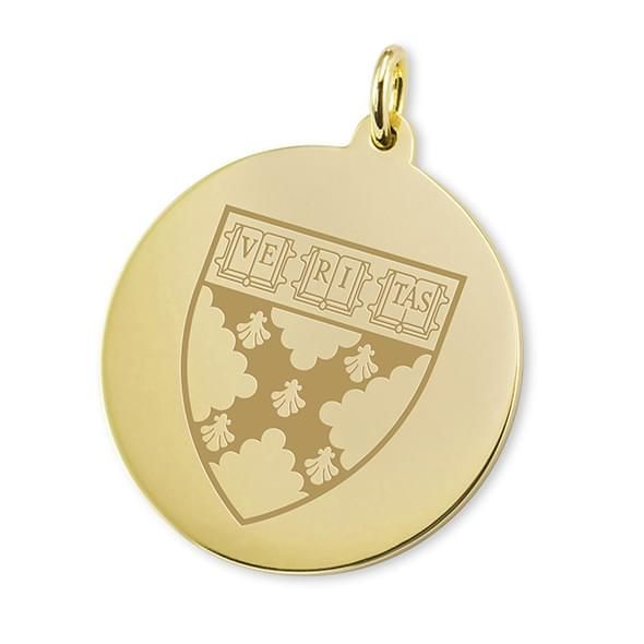 Harvard Business School School 18K Gold Charm