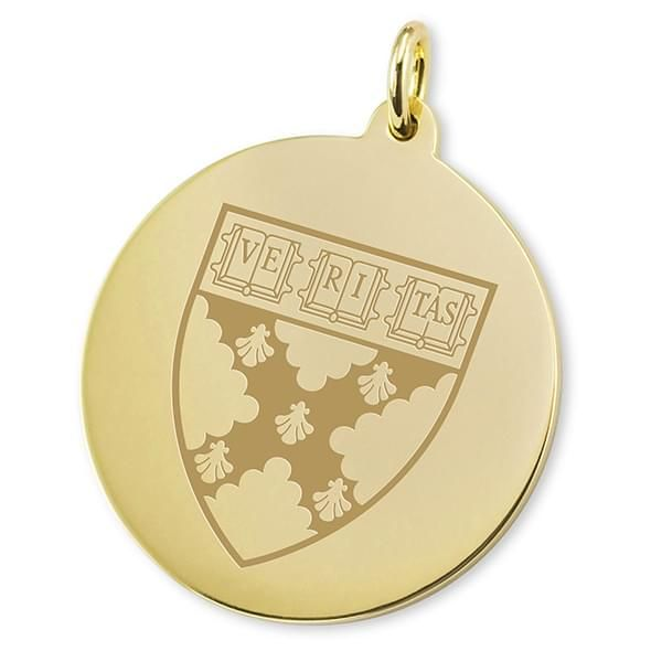 Harvard Business School School 18K Gold Charm - Image 2