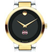 Mississippi State Men's Movado Two-Tone Modern Classic Museum with Bracelet