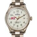 MIT Shinola Watch, The Vinton 38mm Ivory Dial - Image 1