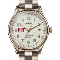 MIT Shinola Watch, The Vinton 38mm Ivory Dial