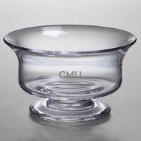 Central Michigan Simon Pearce Glass Revere Bowl Med