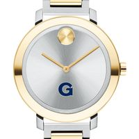 Georgetown University Women's Movado Two-Tone Bold 34