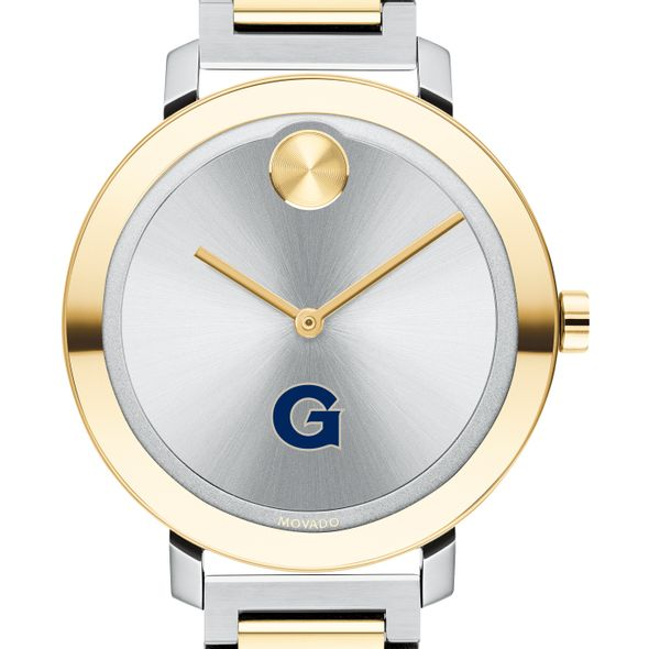 Georgetown University Women's Movado Two-Tone Bold 34 - Image 1