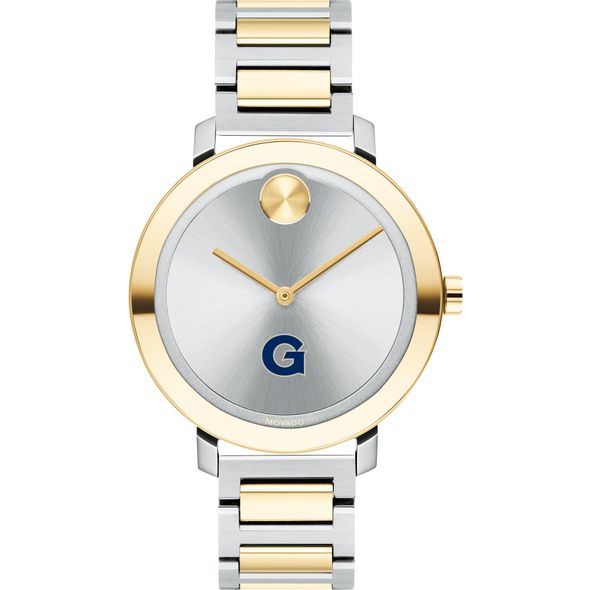 Georgetown University Women's Movado Two-Tone Bold 34 - Image 2