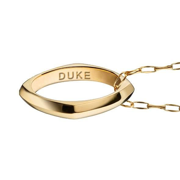 Duke Monica Rich Kosann Poesy Ring Necklace in Gold - Image 3