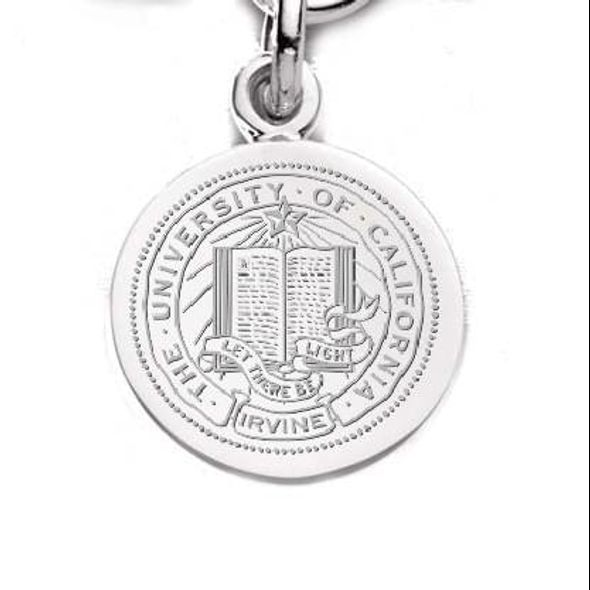 University of California, Irvine Sterling Silver Charm